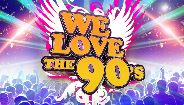 We Love the 90s - Pre-Show Party Ticket Upgrade