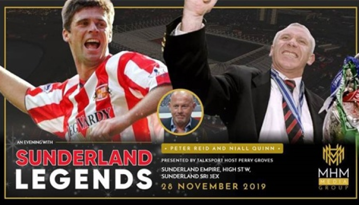 Sunderland Legends - In conversation with Niall Quinn & Peter Reid