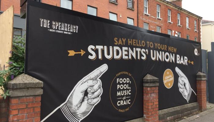 Speakeasy Bar, Queens Student Union