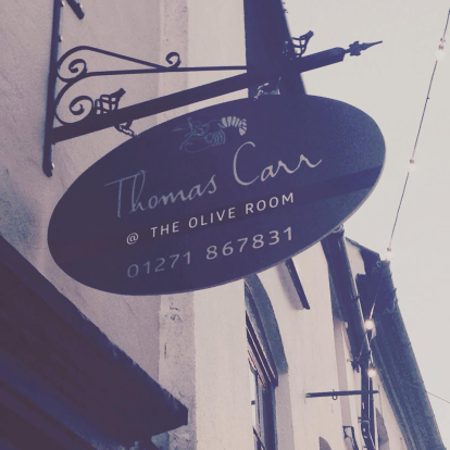Thomas Carr at The Olive Room
