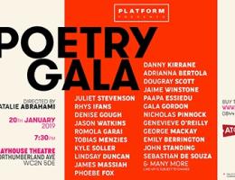 Platform Presents Poetry Gala 2019