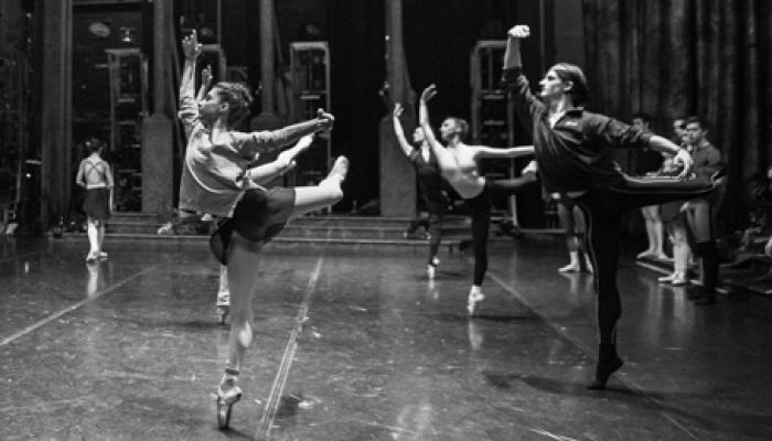 Birmingham Royal Ballet - Class On Stage