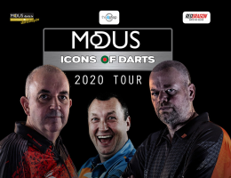 Modus Icons of Darts 2020 Tour