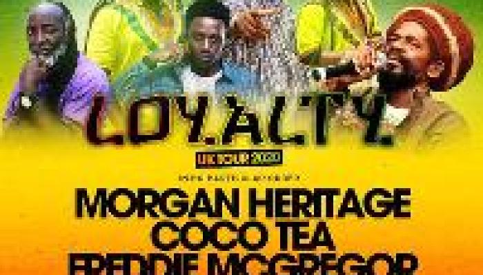 LOYALTY UK Tour w/ Morgan Heritage & Freddie McGregor -Brighton
