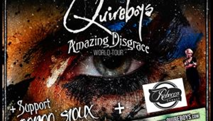 The Quireboys - Amazing Disgrace Tour