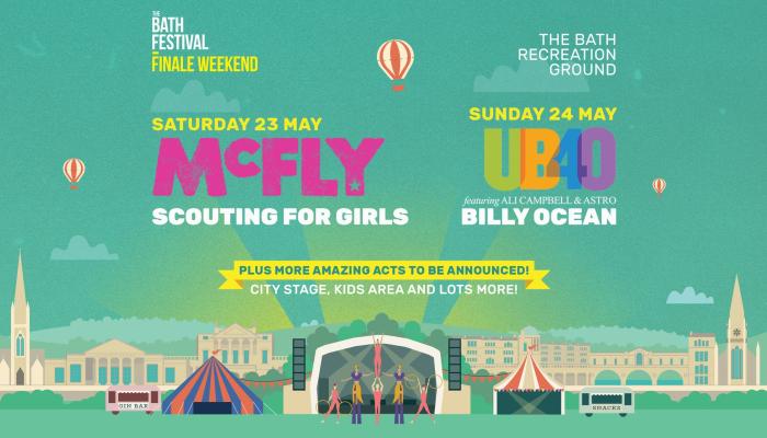 The Bath Festival Finale Weekender - Day Ticket