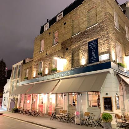 The Alfred Tennyson Pub Belgravia