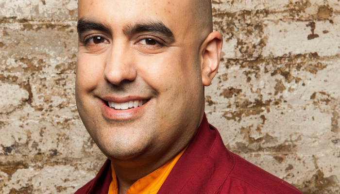 Gelong Thubten - 'A Talk, Guided Meditation, Q&A & Booking Signing'