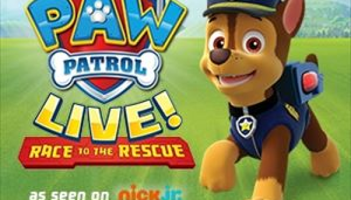 "PAW Patrol Live! ""Race to the Rescue"""