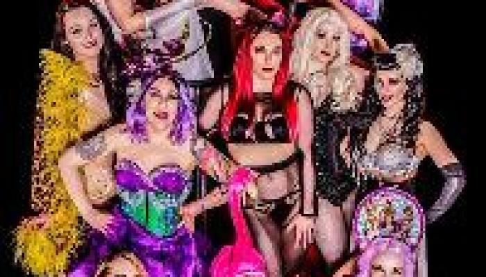 The Scarlet Vixens present: Return of the Purple Peep Show!