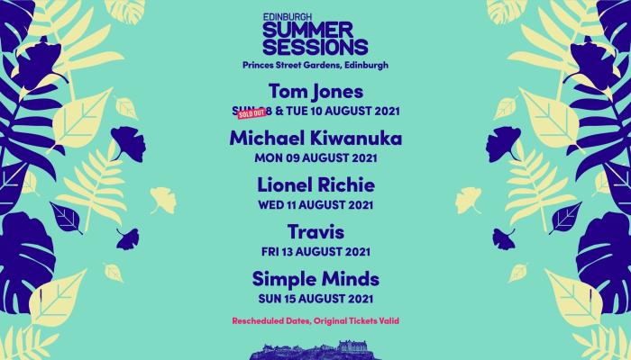 Edinburgh Summer Sessions - DMA'S