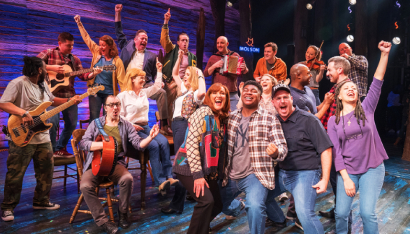 Filmed Come From Away Broadway production to be released