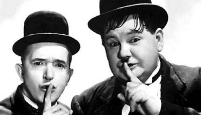 On Screen: Laurel & Hardy Secret Screening Cert U