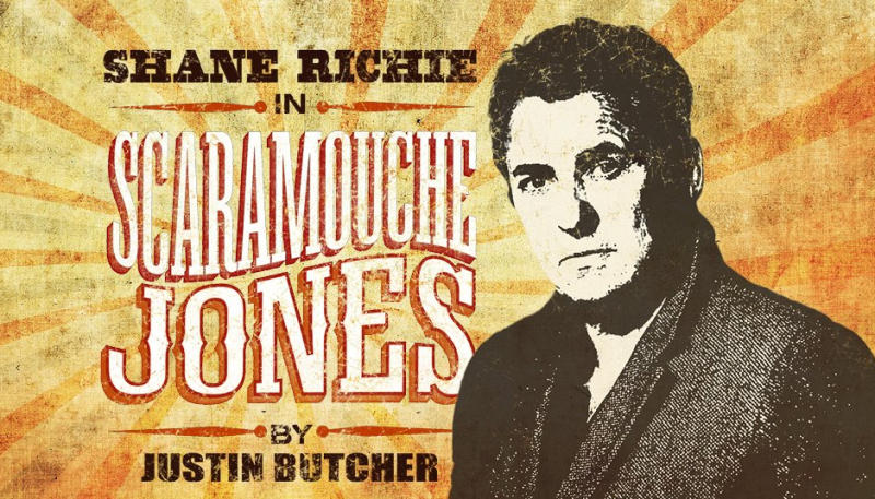 Shane Richie set to star in Scaramouche Jones or the Seven White Masks (the digital revival)