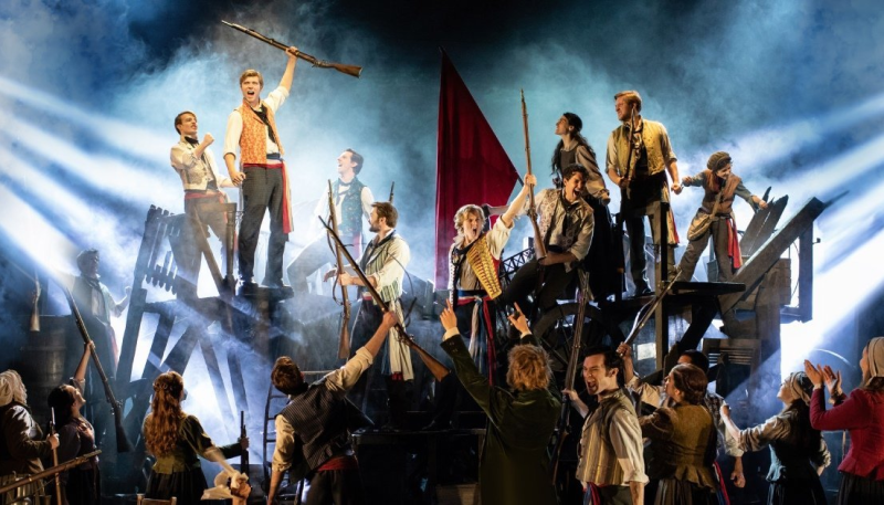 Les Mis is back on the open road!