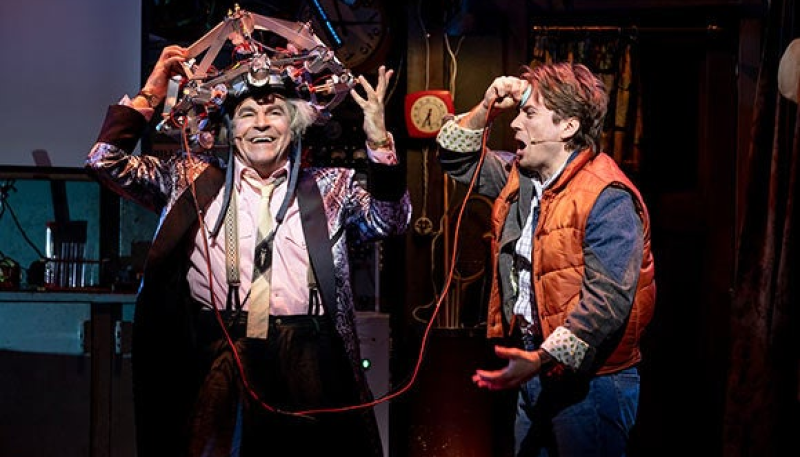 What happens in the future? Back to the Future returns to the West End