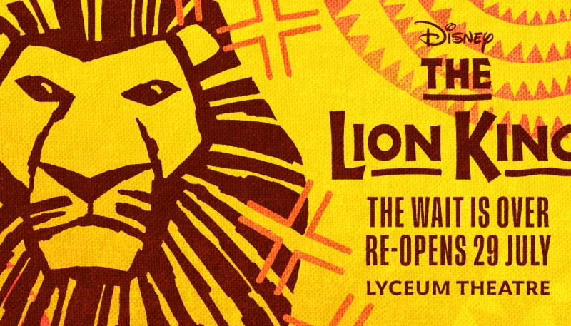 DISNEY'S THE LION KING SETS DATE FOR WEST END RETURN