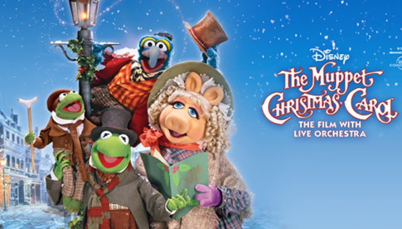 This Christmas experience Disney's Muppet Christmas Carol live in concert!