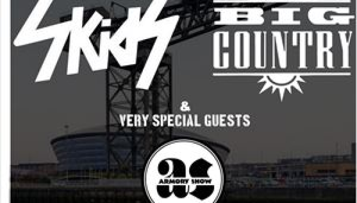 The Skids, Big Country & Armory Show