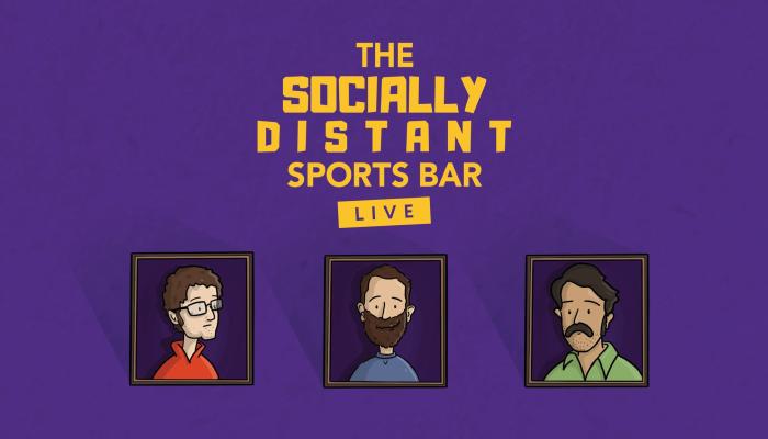 Socially Distant Sports Bar: Live!