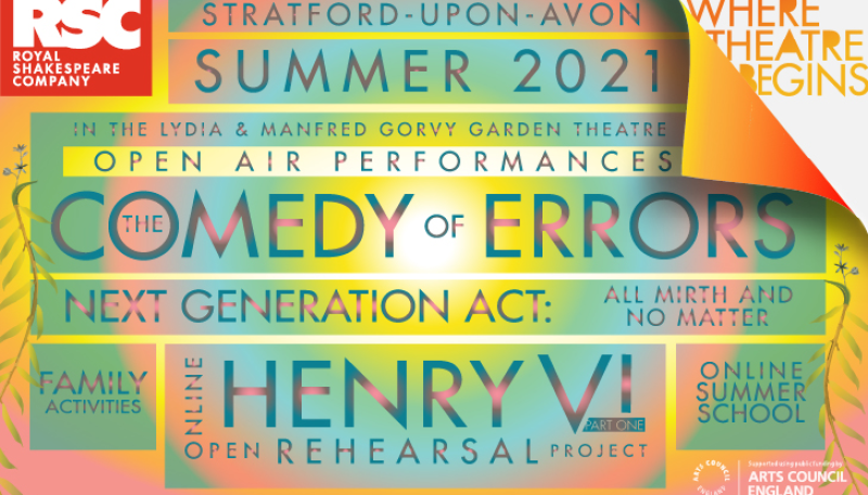The Royal Shakespeare Company have announced the summer programme
