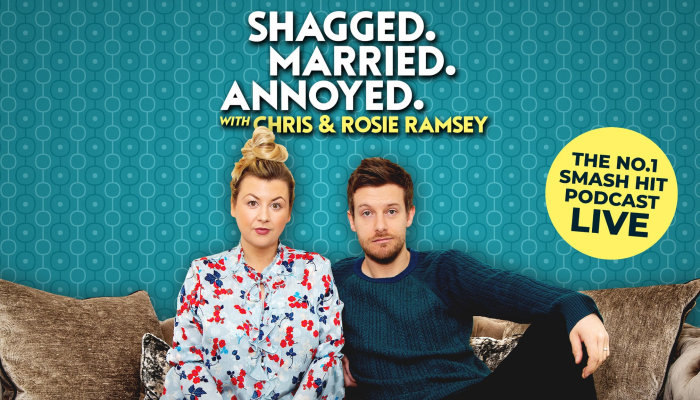 Shagged, Married, Annoyed Live 2021 with Chris & Rosie Ramsey