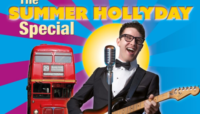 Buddy Holly & The Cricketers – The Summer HOLLYDAY Special!