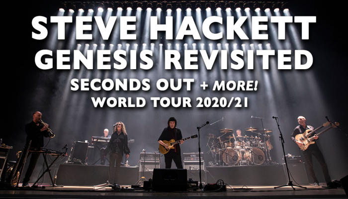 Steve Hackett Genesis Revisited-Seconds Out & More