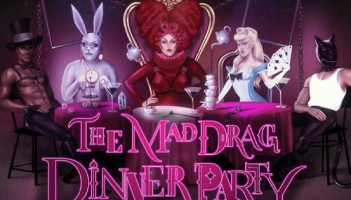 London- Mad Drag Dinner Party (Baga Chipz & More)