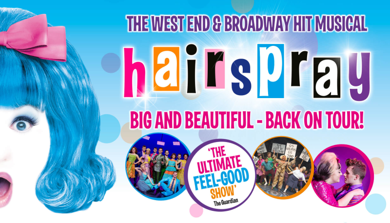 BRENDA EDWARDS, NORMAN PACE AND ALEX BOURNE TO STAR IN  HAIRSPRAY TOUR