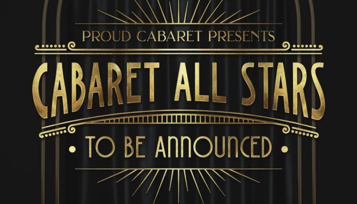 Cabaret All Stars! Star To Be Announced