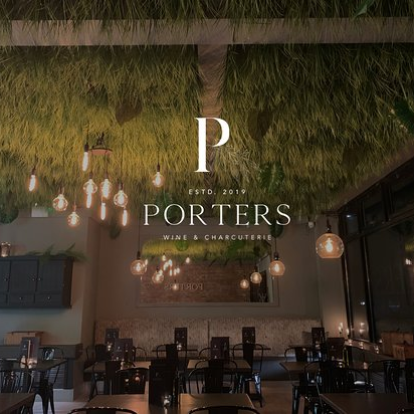 *Porters Wine & Charcuterie