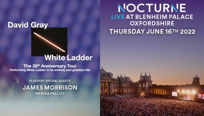 Nocturne Live - David Gray plus guest James Morrison