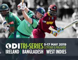 One Day International Cricket - Ireland V Zimbabwe