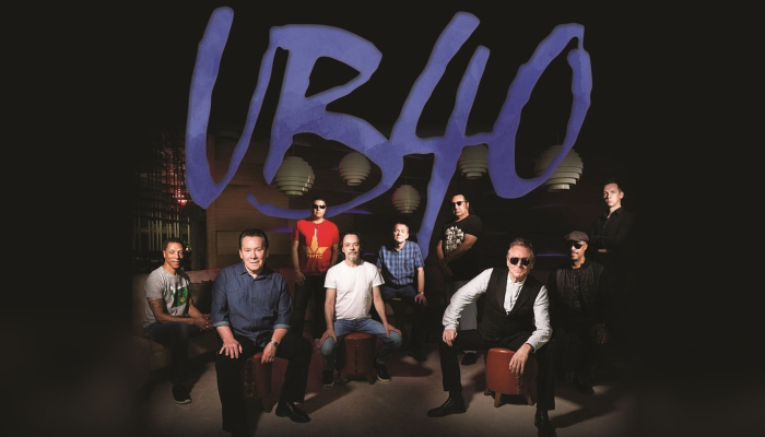 Ub40 40th Anniversary Tour - 'for the Many'